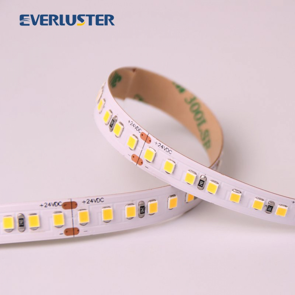 High efficiency series 180lm/watt high lumen high bright 2835 led strip for commercial lighting.